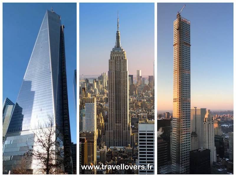 O voir les plus beaux buildings de new york for Plus haute tour new york