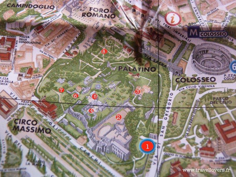 Visite Du Mont Palatin Rome