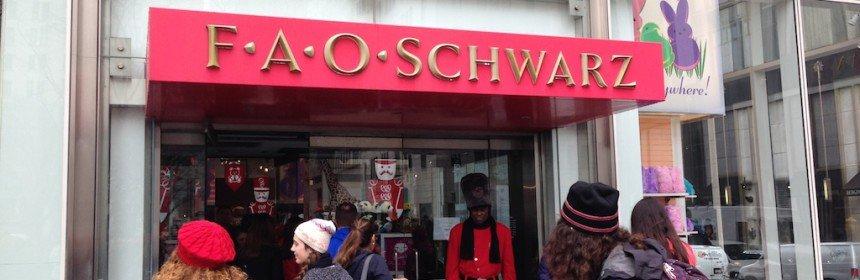 magasin jouet fao schwarz new york
