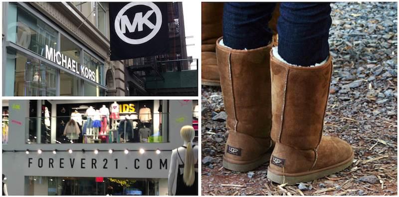 Les marques moins chères, pour elle. shopping-new-york-city c0928b336cc3