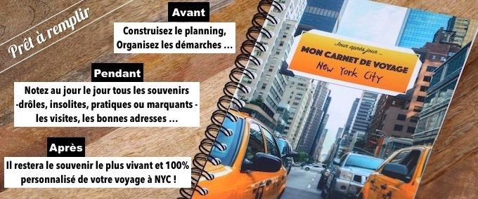 Le Carnet De Voyage Special NYC Pret A Remplir Et Personnaliser Vous Attend Pour Votre Futur New York Disponible En Exclusivite Sur La Boutique