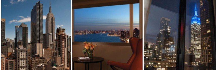 les h tels avec les plus belles vues new york city. Black Bedroom Furniture Sets. Home Design Ideas