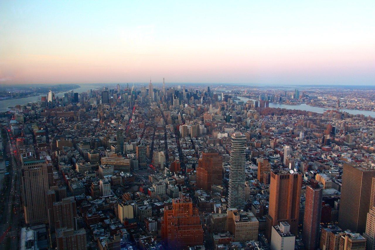 monter au one world observatory une vue inoubliable sur new york. Black Bedroom Furniture Sets. Home Design Ideas