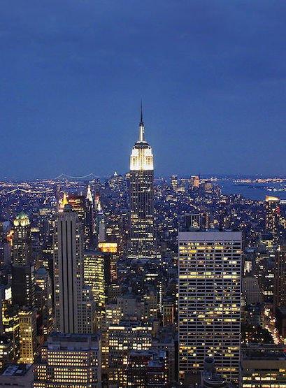 vue-rockefeller-center-new-york-nuit