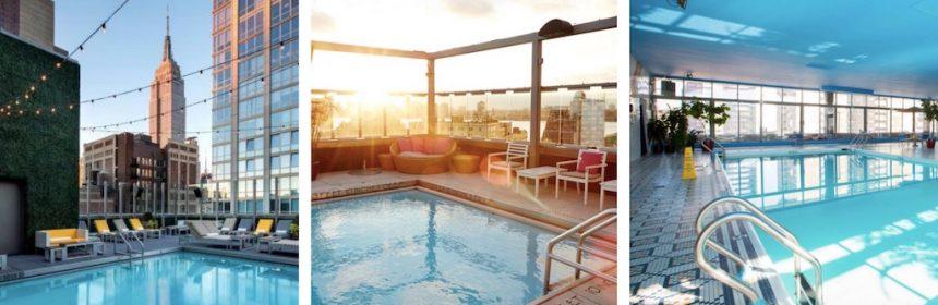New york travellers le meilleur de nyc r uni dans un blog for Hotel avec piscine new york